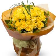 노랑장미꽃다발2-예약상품